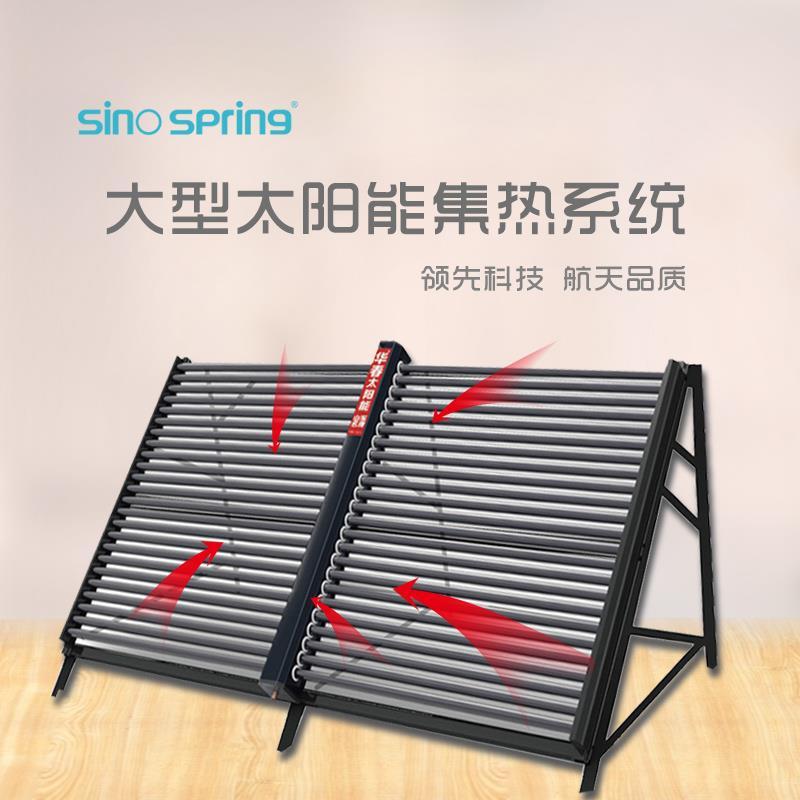 太陽能集熱系統圖片